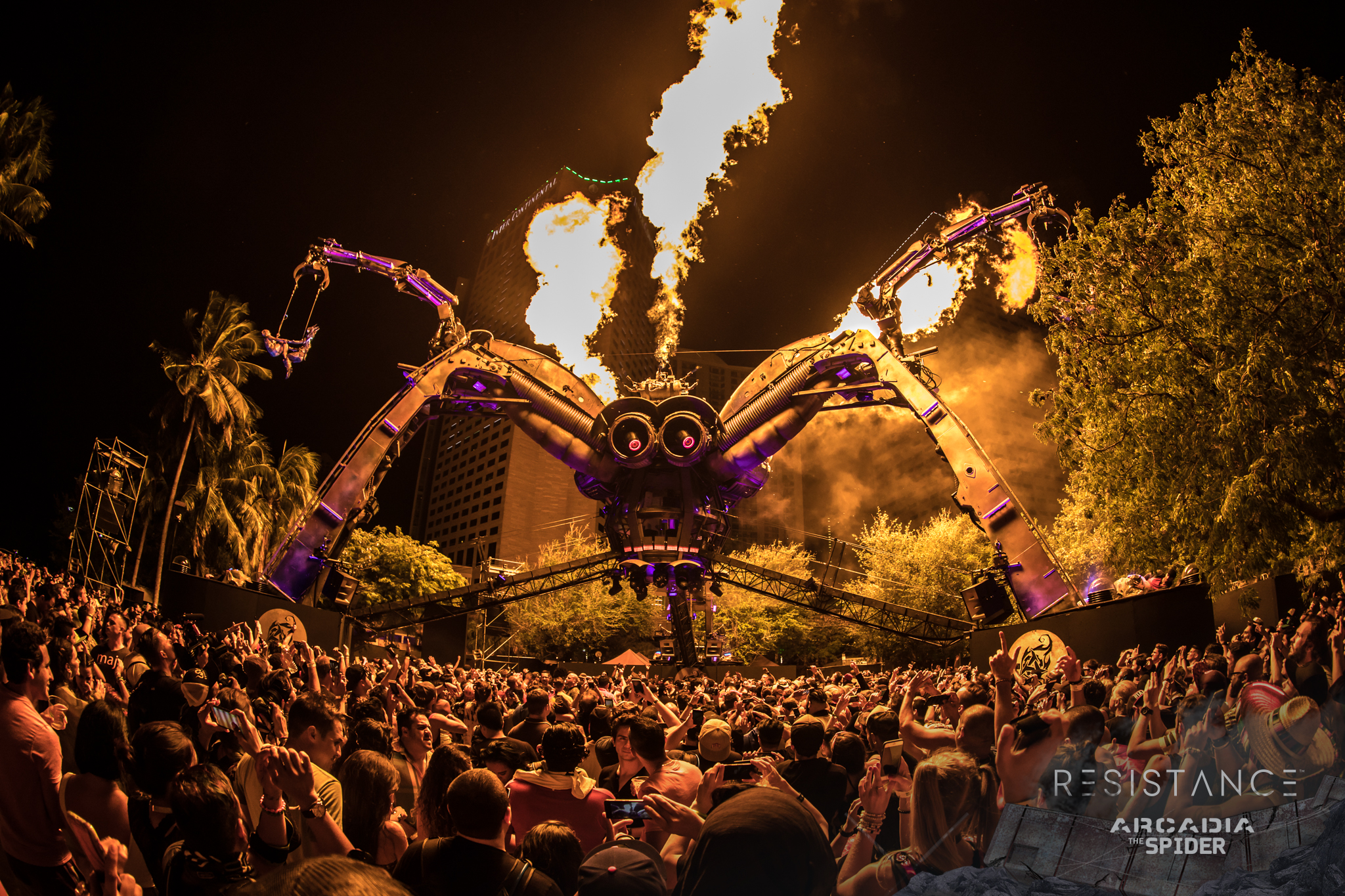 Ultra_2017_aLIVE Coverage - RESISTANCE Arcadia Spider