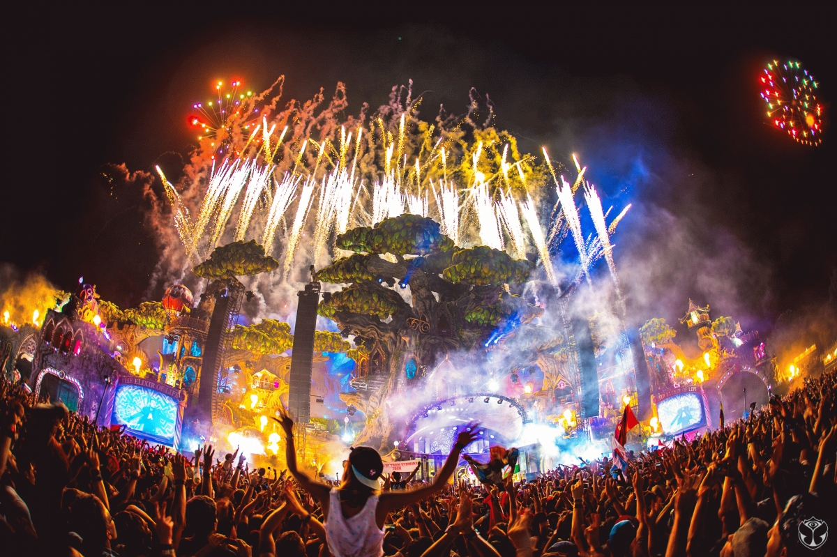 Acompanhe a construção do Tomorrowland 2017