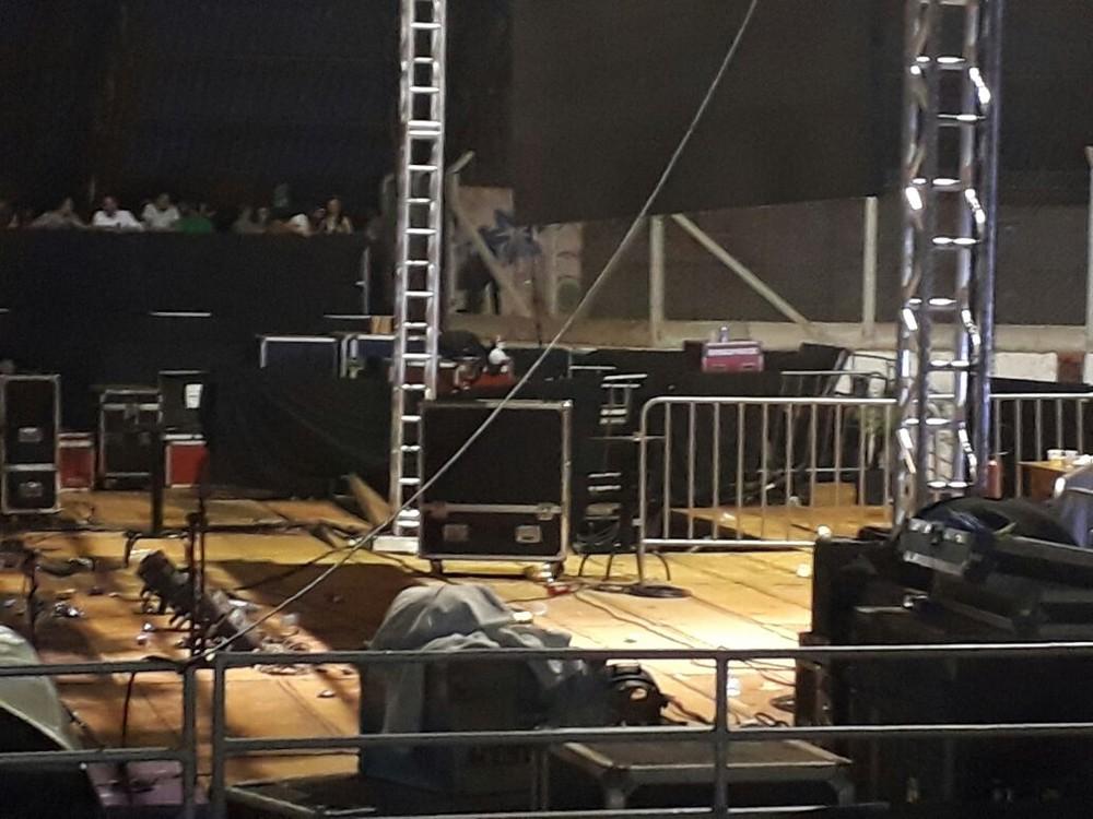 Estrutura de show do DJ cede e deixa dezenas de feridos — Alok
