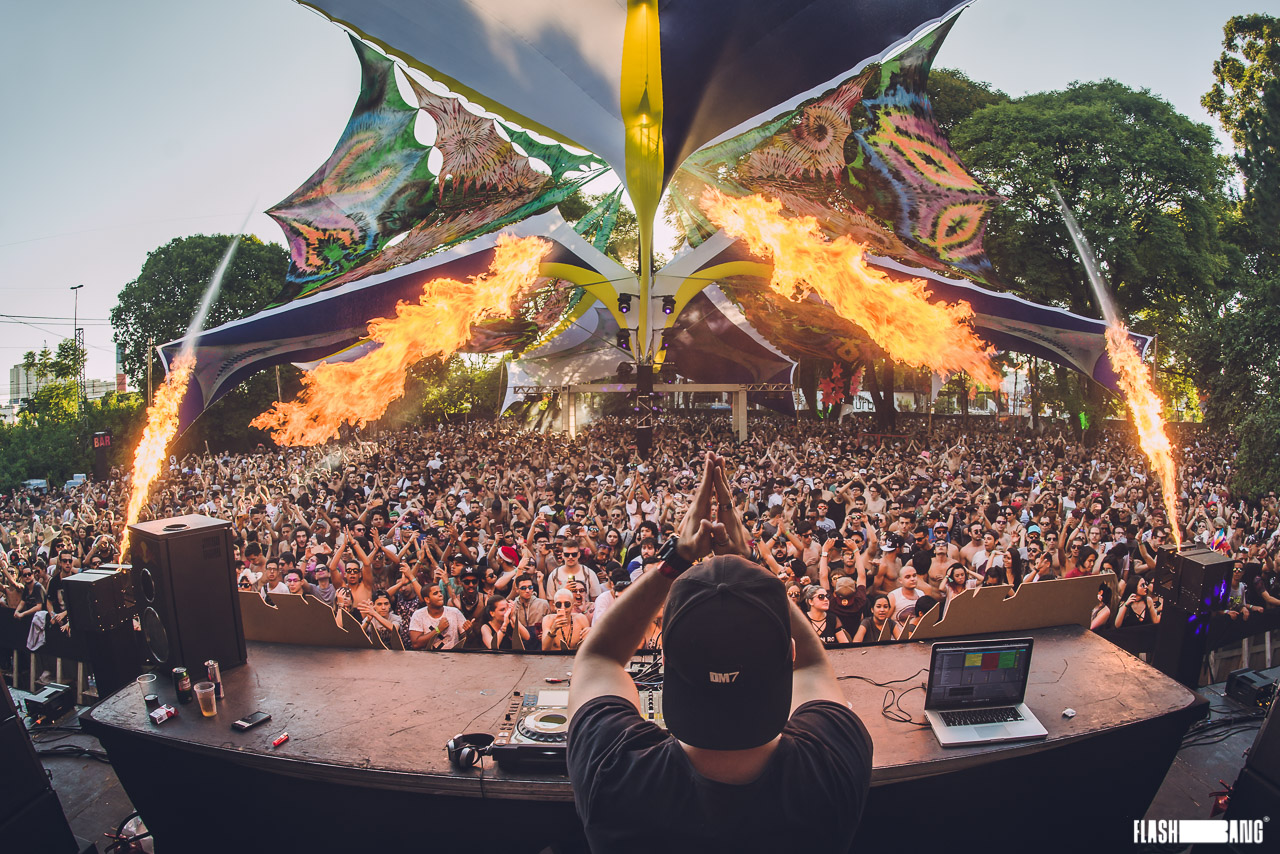 Mundo Psicodélico Festival - Créditos: Flashbang